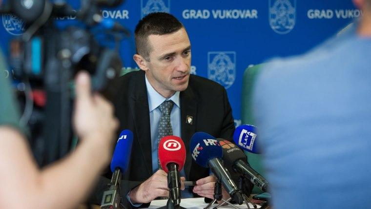 Vukovar Mayor Ivan Penava (Photo: Davor Javorovic/PIXSELL)