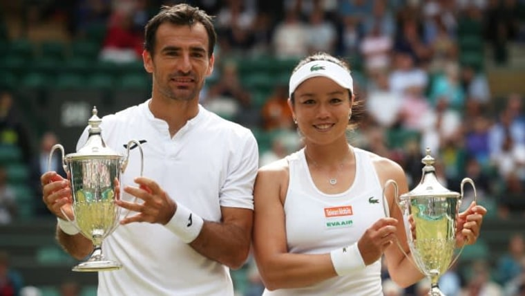 Ivan Dodig und Latisha Chan (Foto: REUTERS_Hannah McKay)
