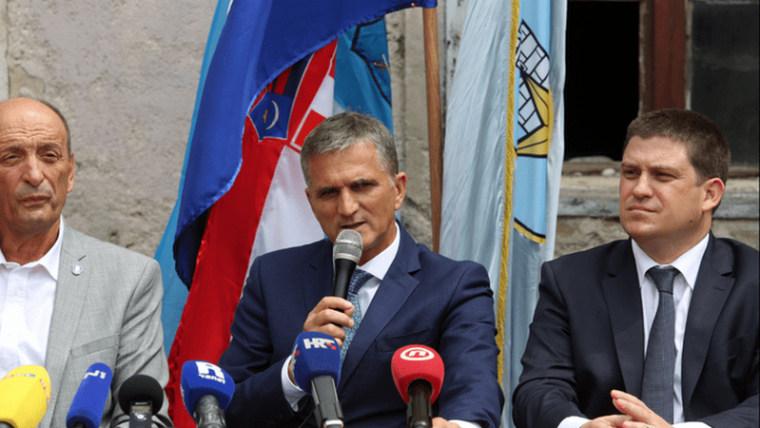 Goran Marić bei der Pressekonferenz (Foto: Goran Kovacic/PIXSELL)
