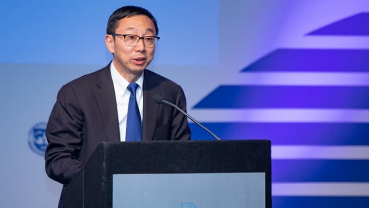 The Deputy Managing Director of the International Monetary Fund, Tao Zhang (Grgo Jelavic/PIXSELL)