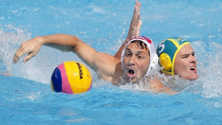 Croatia vs. Australia Water Polo (Photo: Predrag Milosavljevic/XINHUA/PIXSELL)