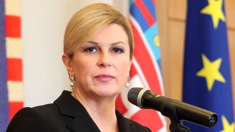 President Kolinda Grabar-Kitarović (Photo: Goran Stanzl/PIXSELL)