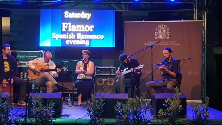 Concierto de flamenco (Foto: Cortesía Embajada de España)