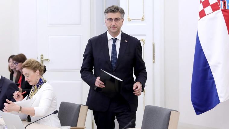 Prime Minister Andrej Plenković (Photo: Patrik Macek/PIXSELL)