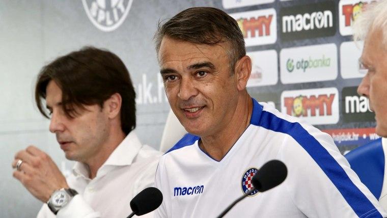 New Hajduk Split Coach Damir Burić (Photo: Ivo Cagalj/PIXSELL)