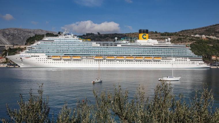Cruiser vor der Stadt Dubrovnik (Foto: Grgo Jelavic/PIXSELL)