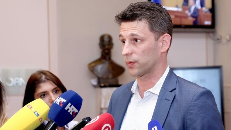 Božo Petrov, líder de Most (Foto:Patrik Macek/PIXSELL)
