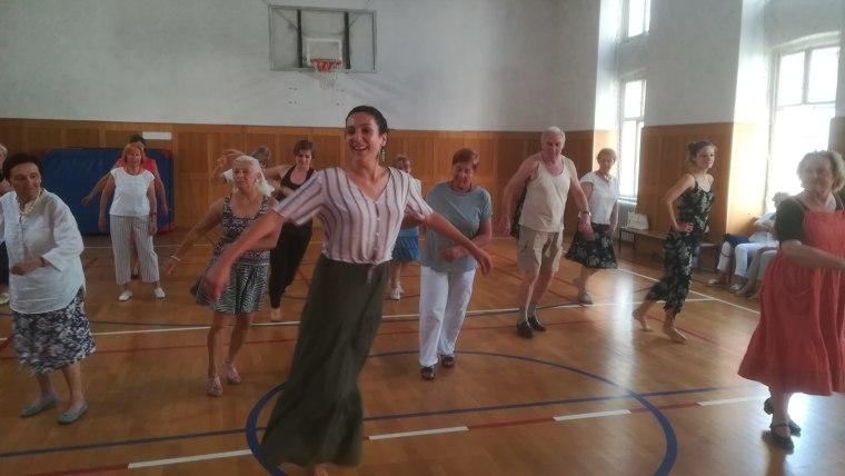Danza boliviana en el Festival Internacional de Folklore  de Zagreb (Foto: David Rey)