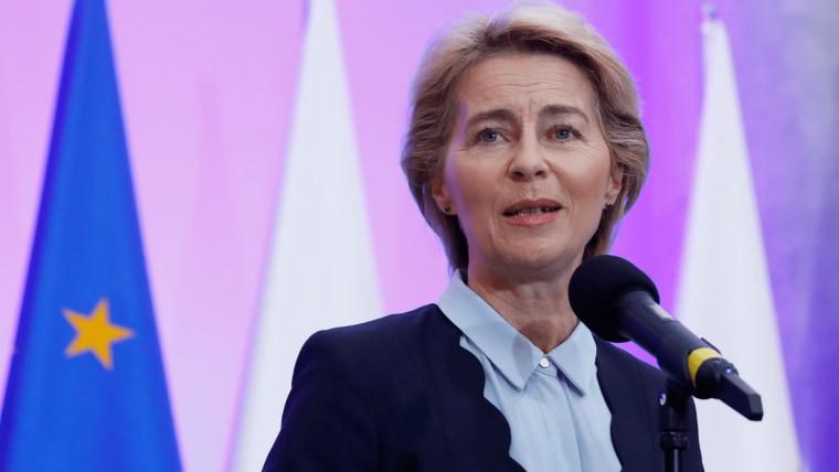 EC President Ursula von der Leyen (Photo: Kacper Pempel/REUTERS)