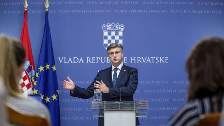 Primer ministro Andrej Plenković (Foto: Slavko Midzor/PIXSELL)