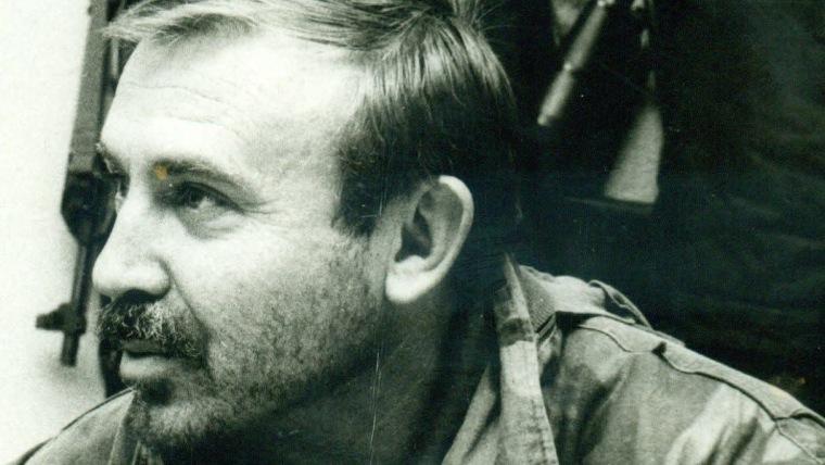 Coronel Mario Katušić durante la Guerra Patria (Foto: archivo personal)