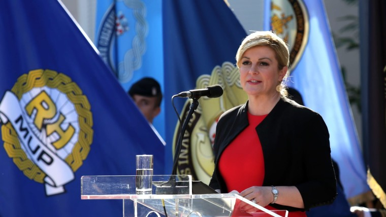 Kolinda Grabar- Kitarović, (Foto: HRT)