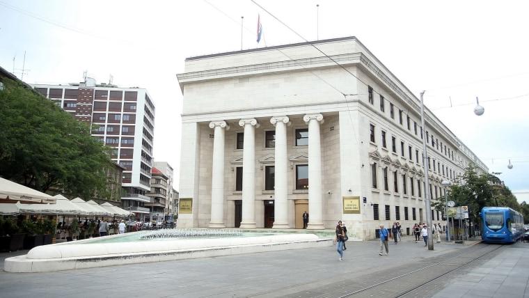 Croatian National Bank (Photo: Goran Stanzl/PIXSELL)