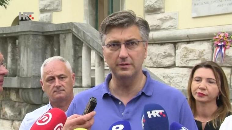Andrej Plenković Opatija (Foto: HRT)