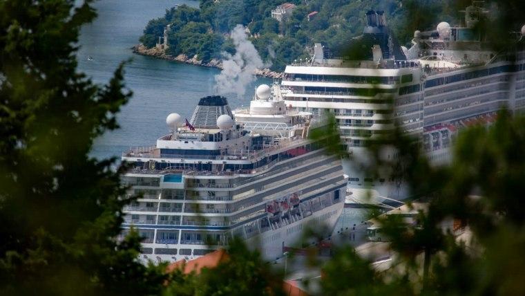 Cruceros en Dubrovnik (Foto: Grgo Jelavic/PIXSELL)