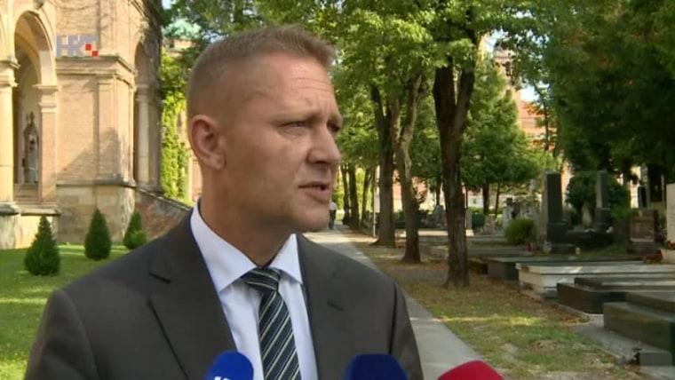 Croatian Peasant Party leader Krešo Beljak (Photo: HRT)