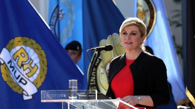 Kolinda Grabar-Kitarović candidatura (Foto:  Dusko Jaramaz/  PIXSELL)