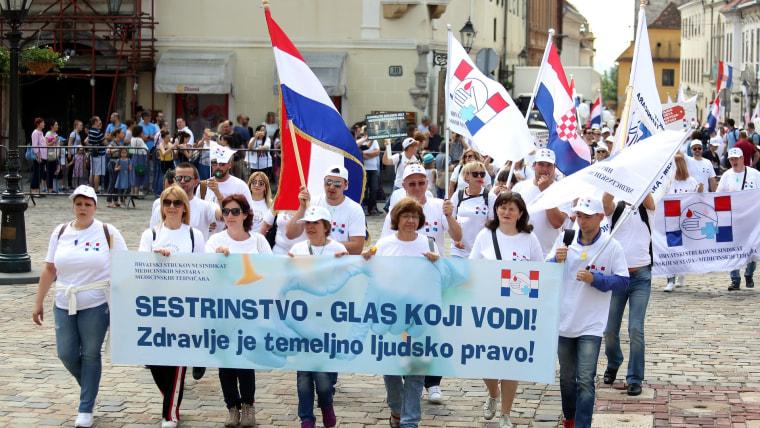 Empleados del sector salud anuncian huelga  (Foto: Borna Filic / PIXSELL / Ilustración)