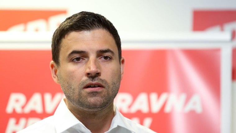 Davor Bernardić, (Foto: HRT)