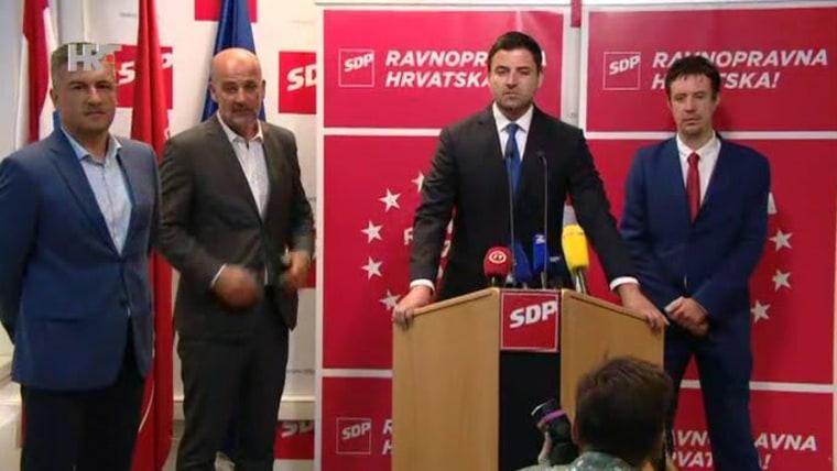 Davor Bernardić (Foto: HRT)