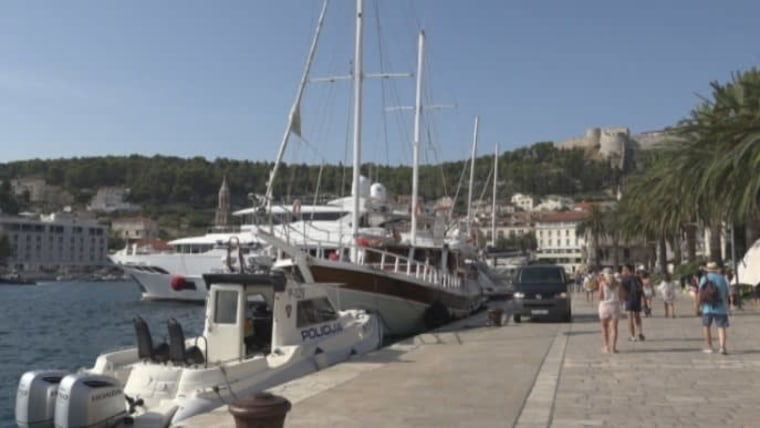 The boat in Hvar where Italian tourists were most likely poisoned by carbon monoxide (Photo: HRT)