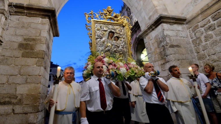 Croatia celebrates the Feast of the Assumption of the Virgin Mary (Photo: Marko Lukunic/PIXSELL)