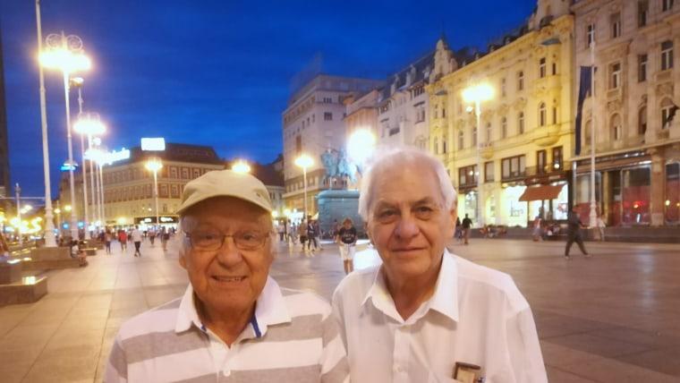 Horacio Gonzales i David Rey u šetnji Zagrebom (Foto: Glas Hrvatske)