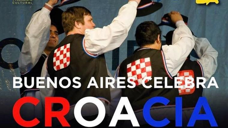Buenos Aires celebra Croacia (Foto: screenshot)