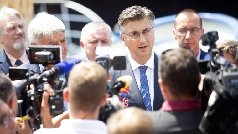 Primer MInistro, Andrej Plenković (Foto: Nel Pavletic/PIXSELL)