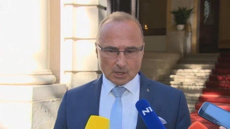 Außenminister Goran Grlić Radman (Foto: HRT)