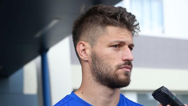 Der Dinamo-Stürmer Bruno Petković (Foto: Luka Stanzl_PIXSELL)