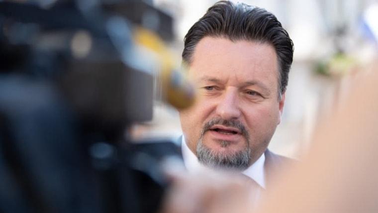 Former Administration Minister Lovro Kuščević (Photo: Davor Puklavec/PIXSELL)