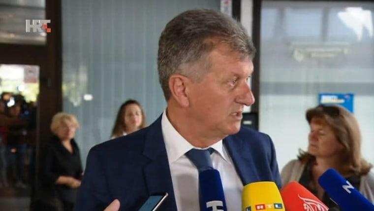 Minister of Health Milan Kujundžić (Photo: HRT)