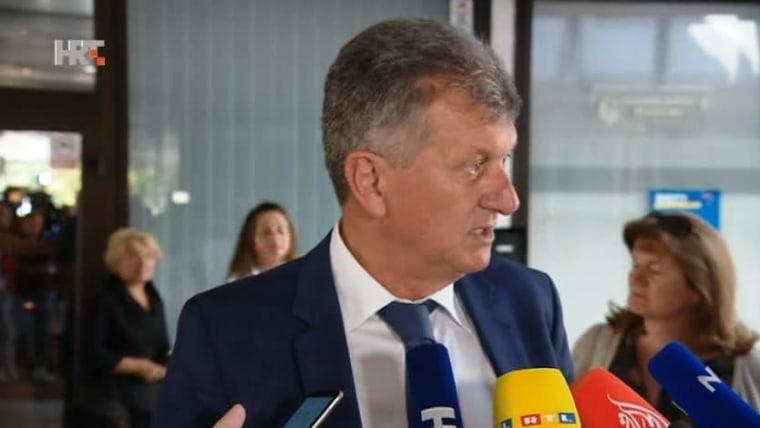 Gesundheitsminister Milan Kujundžić (Foto: HRT)