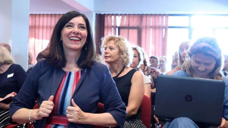 Ministerin für Bildung und Wissenschaft, Blaženka Divjak (Foto: Goran Stanzl/PIXSELL)