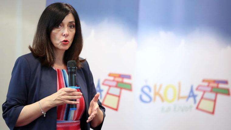Minister of Science and Education Blaženka Divjak (Photo: Goran Stanzl/Pixsell)