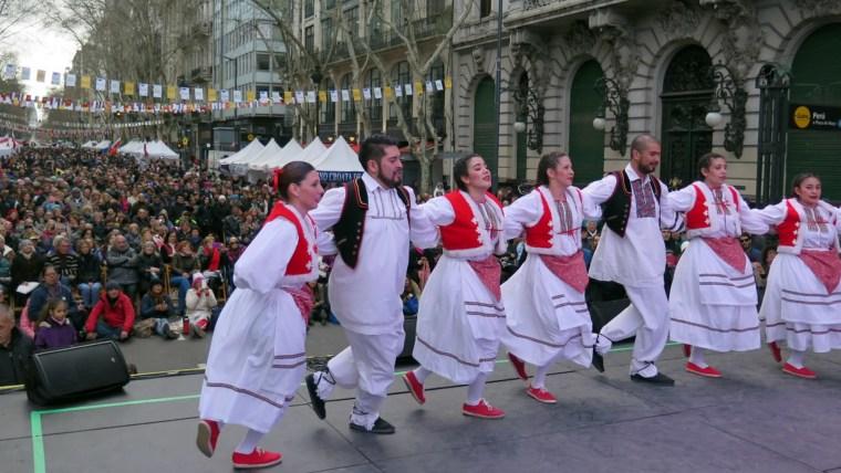 Buenos Aires celebra Croacia (Foto: gentileza de Croacia Online)