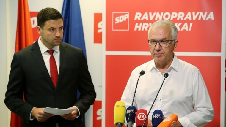 SDP presentó su plan (Foto: Dalibor Urukalovic/PIXSELL)