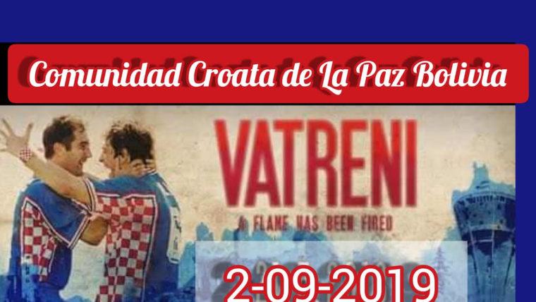 Película documental Vatreni (Foto: Comunidad Croata de La Paz)