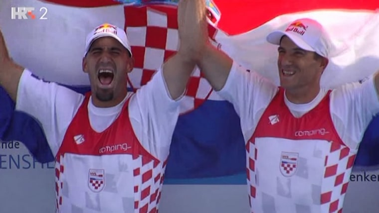 Martin and Valent Sinković (Screenshot: HRT)