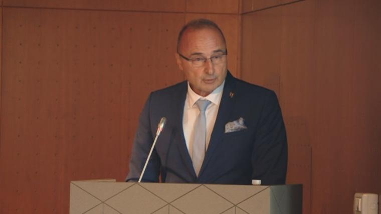 Der Minister für auswärtige und europäische Angelegenheiten Gordan Grlić Radman (Foto: HRT)