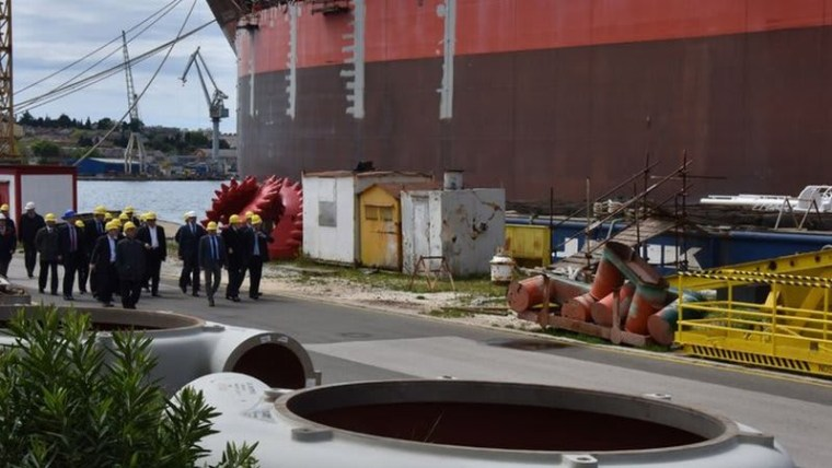 Uljanik shipyard in Pula (Photo: Dusko Marušić/PIXSELL)