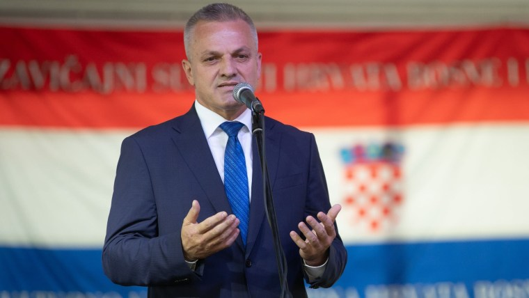 Zvonko Milas the State Secretary at the Central State Office for Croats Living Outside of Croatia (Photo: Davor Puklavec/PIXSELL)