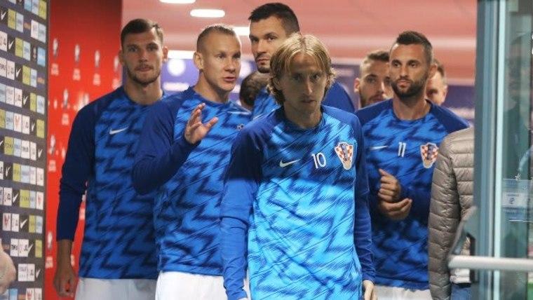 Die kroatische Fußballnationalmannschaft (Foto: Davor Javorovic/PIXSELL)
