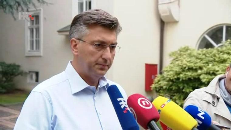 Premierminister Andrej Plenković (Foto: HRT)