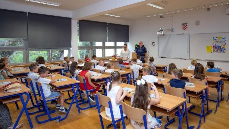Escuela en Dubrovnik (Foto: Grgo Jelavic/PIXSELL)