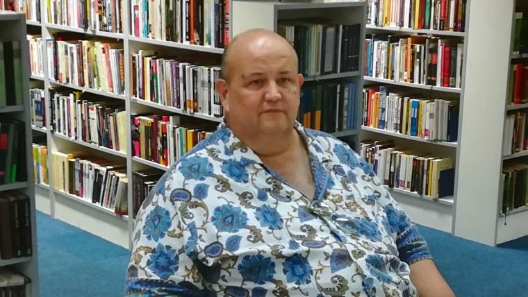 Escritor Mario Ángel Quintero (Foto David Rey - La Voz de Croacia)