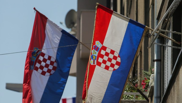 Flagge der Republik Kroatien (Foto: Filip Los / PIXSELL)
