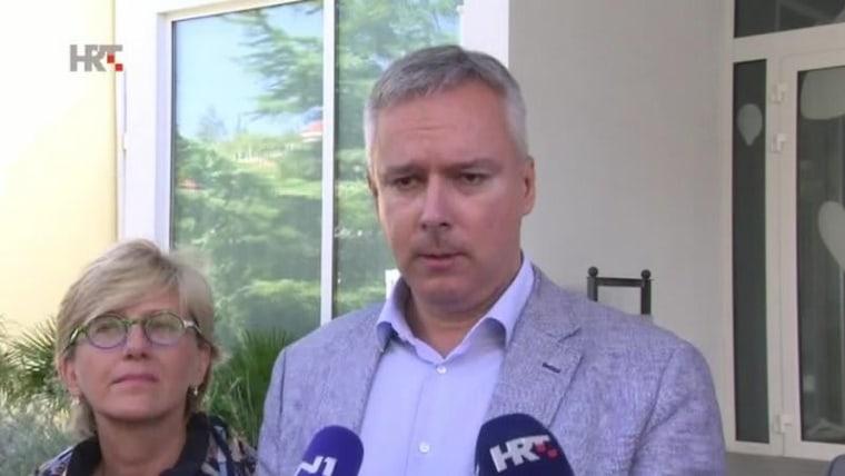 Líder de HSLS, Darinko Kosor (Foto: HRT)