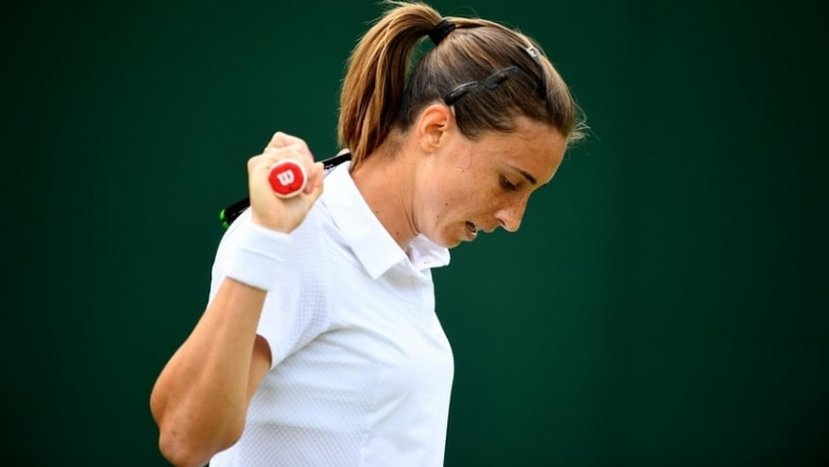 Petra Martić at Wimbledon earlier this year  (Victoria Jones/Press Association/PIXSELL)